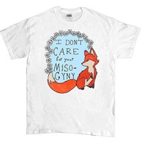 Feminist Fox Doesn't Care For Your Misogyny -- Unisex T-Shirt