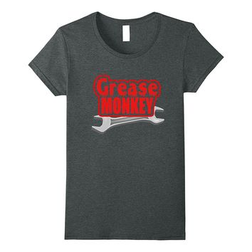 Grease Monkey Wrench Auto Mechanics T Shirt