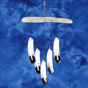 Eagle Feather Wind Chime,Glass Wind Chime,Bald Eagle Windchime