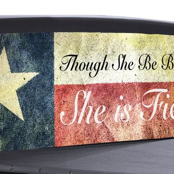 Texas Flag Shakespeare Universal Truck Rear Window 50/50 Perforated Vinyl