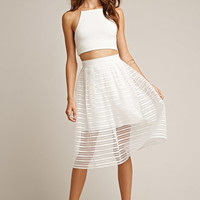 Tiger Mist Twist Midi Skirt