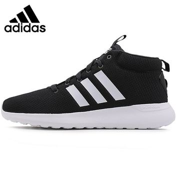 Original New Arrival 2017 Adidas NEO Label CF LITE RACER MID Men's Skateboarding Shoes