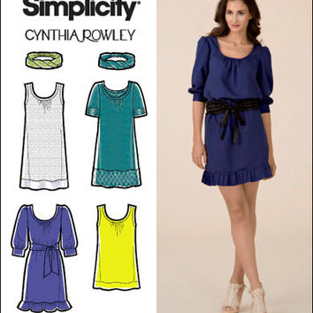 Designer Petite Dress Patterns For Women Cynthia Rowley DRESS PATTERN