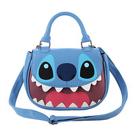 Disney Lilo & Stitch Face Crossbody Bag