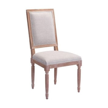 Set Of 2 Cole Valley Dining Chairs Beige
