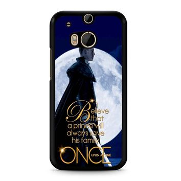 Once Upon A Time Believe A Prince HTC M8 Case