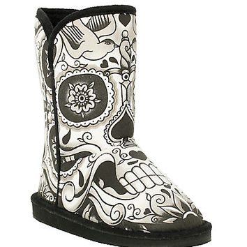 Iron Fist Sugar Skull Slipper Boot