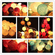 20 Cotton Ball Fairy String Lights Party Patto Holiday Wedding Bedroom Decor = 1932720324