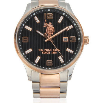 US POLO ASSN. Watch with Japanese quartz movement Man Herald