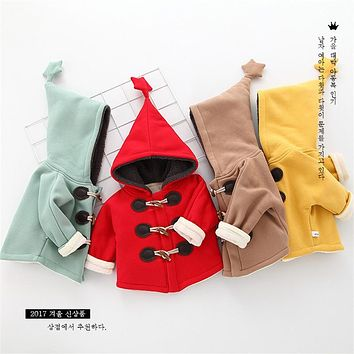 High Quality New Children Coat Baby Girls Boys Winter Coats Full Sleeve Coat Newborn Warm Baby Jacket Outerwear