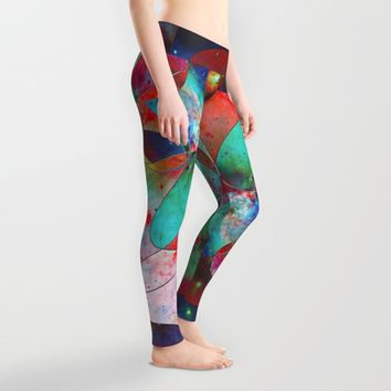 Time Warped Leggings by DuckyB (Brandi)