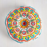 Boho Needlework of Art Pillow by Karma Living from ModCloth