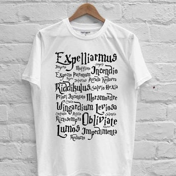 harry potter spell T-shirt Men, Women, Youth and Toddler