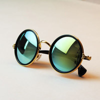 Retro Round Summer Sunglasses