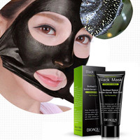 Mask Black Mud Deep Cleansing Pilaten Blackhead Remover Purifying Peel Face Mask