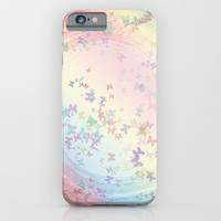 Butterflies iPhone & iPod Case by Jen K