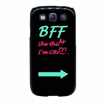best friend bff couple cases left samsung galaxy s3 s4 cases