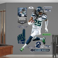 Seattle Seahawks Richard Sherman Wall Decals by Fathead