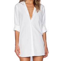 MiH Jeans The Oversized Shirt in White