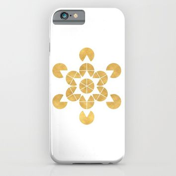 STAR TETRAHEDRON MERKABA sacred geometry iPhone & iPod Case by deificus Art