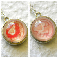 Simba Double Sided Petite Necklace - Inspired from Disney's The Lion King