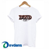 Dead Skull T Shirt Women And Men Size S To 3XL | Dead Skull T Shirt