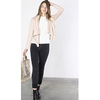 Maxwell Faux Suede Jacket