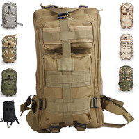 Outdoor Military Tactical Backpack Great For Camping Hiking Trekking Travel