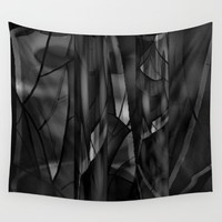 Ghostly Wall Tapestry by Jennifer Warmuth Art And Design