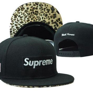 VONEED Supreme 5 Panel Camp Cap Cap Snapback Hat - Ready Stock