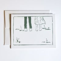 Summer Wedding - Greeting Cards - Blank Stationary