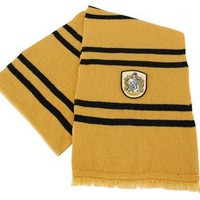 Harry Potter Hufflepuff House Deluxe Wool Scarf