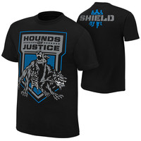 """The Shield """"Hounds of Justice"""" Retro T-Shirt"""