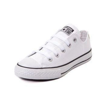 ICIKGQ8 youth converse chuck taylor all star lo leather sneaker