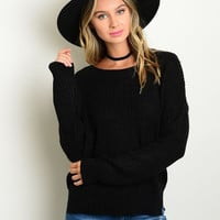 Comfy Black Sweater