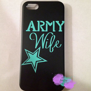 Army Wife iPhone Case