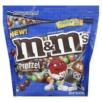 M&M's Pretzel Chocolate Candy 30 oz