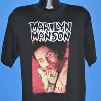 90s Marilyn Manson I Am The God of F*ck t-shirt Extra Large