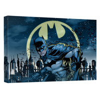Batman Heed The Call Stretched Canvas Wall Art