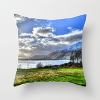Scotland Throw Pillow by Haroulita | Society6
