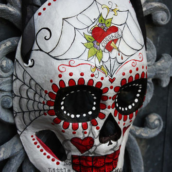 Dia De Los Muertos Courage & Strength Sugar Skull