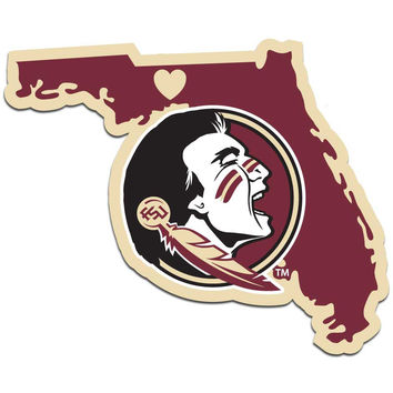 NCAA Florida State Seminoles Home State Decal