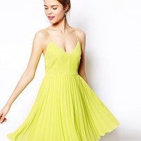 ASOS Pleated Mini Dress