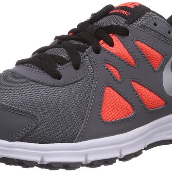 Nike Kids Revolution 2 PSV Running Shoe Dark Grey/White/Metallic Silver 7 Big Kid M '