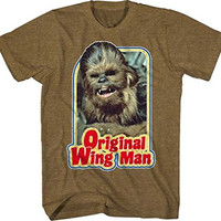 Star Wars Chewbacca Furry Flier Original Wingman T-shirt