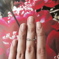 Arrows Ring (Sterling Silver)