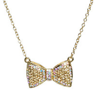 Bow Short Necklace | Shop Trending Now at Wet Seal