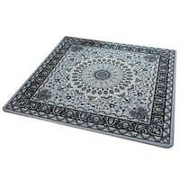 European Style Carpet Ground Door Non-slip Mat]  90*90cm