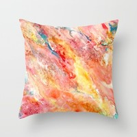 Celebration Throw Pillow by Rosie Brown | Society6