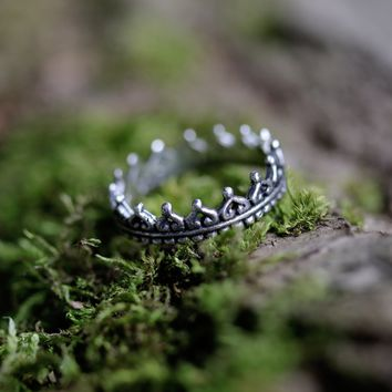 Shop Dixi Sterling Silver Boho Chic Wishbone Ring